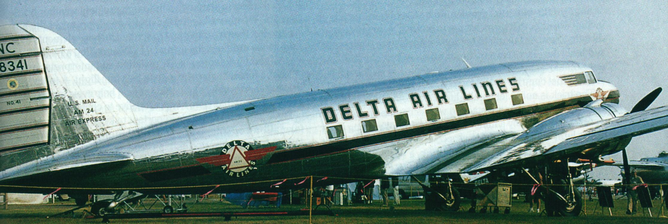 .The new Delta DC3 .